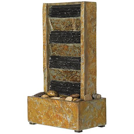 "Slate 18"" High Tabletop Fountain"