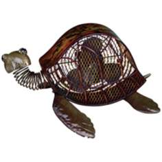 Sea Turtle Figurine Fan
