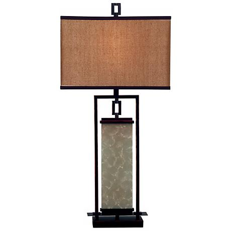 Oil-Rubbed Bronze Plateau Table Lamp