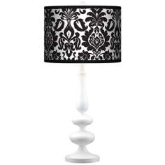 Stacy Garcia Metropolitan Giclee Paley White Table Lamp