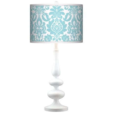 Stacy Garcia Landscape Florence Paley White Table Lamp