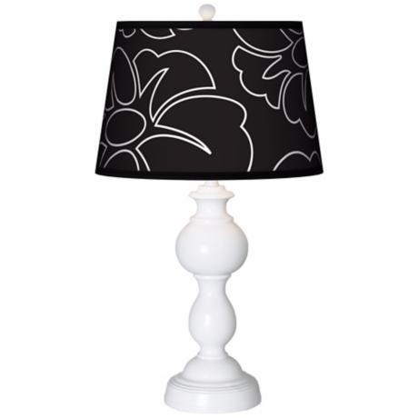 Summer Silhouette Giclee Sutton Table Lamp