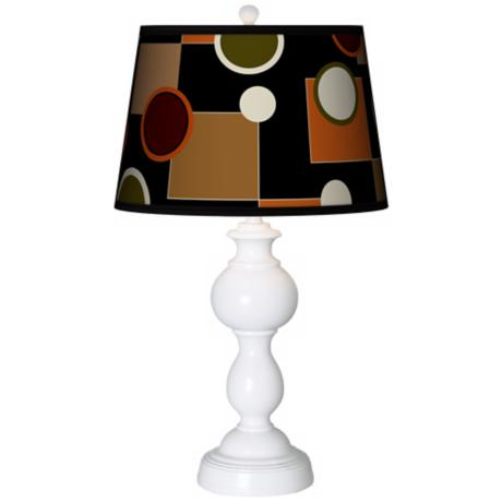 Retro Medley Giclee Sutton Table Lamp