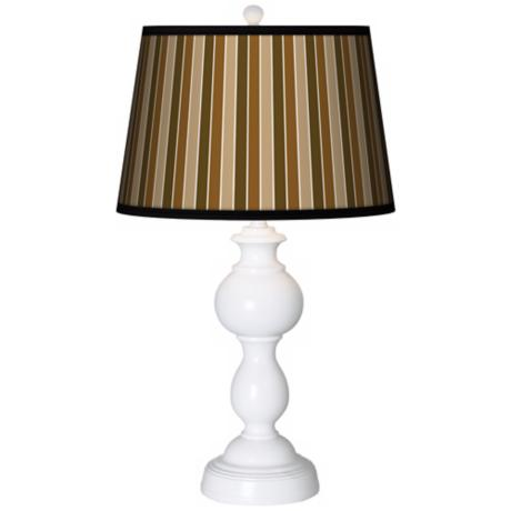 Sorrel Vertical Giclee Sutton Table Lamp