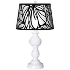 Jungle Moon Giclee Sutton Table Lamp