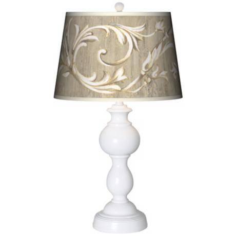 Laurel Court Giclee Sutton Table Lamp