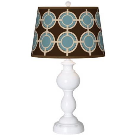 Stacy Garcia Porthole Giclee Sutton Table Lamp