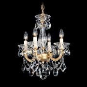 "Schonbek La Scala Collection 16 1/2"" Wide Crystal Chandelier"