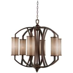 "Murray Feiss Logan 30"" Wide Chandelier"