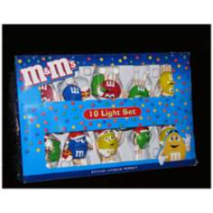 M&M's 10-Light String of Party Lights