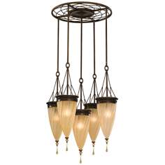 "Murray Feiss Trinity 27 1/2"" Wide Pendant Chandelier"