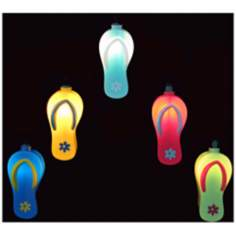 Coloful Sandals 10-Light String of Party Lights