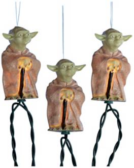 Yoda Star Wars Party Lights