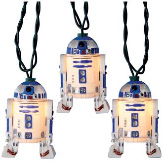 R2D2 Star Wars Party Lights