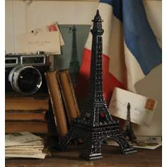 Miniature Cast Iron Eiffel Tower Replica Sculpture