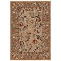 Winchester Collection Salisbury Gold Area Rug
