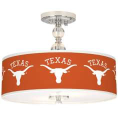 "University of Texas Longhorns 16"" Wide Ceiling Light"