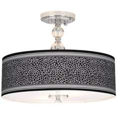 "Stacy Garcia Metropolitan Dahlia 16"" Wide Ceiling Light"