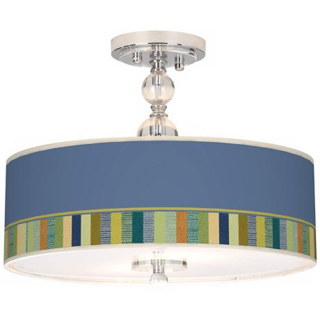 "Stacy Garcia Modern Palette 16"" Semi-Flush Ceiling Light"