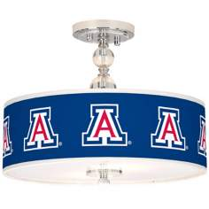 "The University of Arizona 16"" Wide Semi-Flush Ceiling Light"
