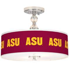 "Arizona State University 16"" Wide Semi-Flush Ceiling Light"