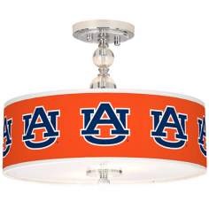 "Auburn University 16"" Wide Semi-Flush Ceiling Light"