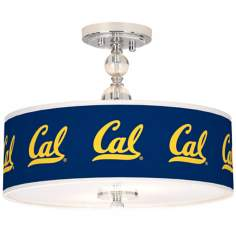 "University of California Berkeley 16"" Wide Ceiling Light"