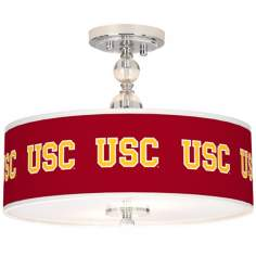 "University of Southern California 16"" Wide Ceiling Light"