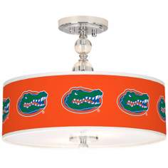 "University of Florida 16"" Wide Semi-Flush Ceiling Light"
