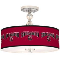 "University of South Carolina 16""W Semi-Flush Ceiling Light"