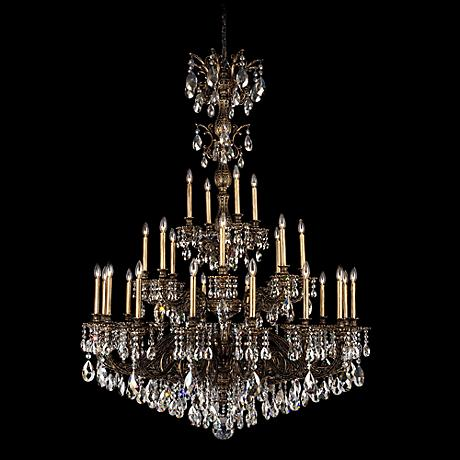 Schonbek Olde World Collection 25 Light Crystal Chandelier