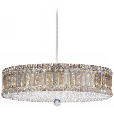 "Schonbek Plaza Collection 21"" Crystal Pendant Chandelier"
