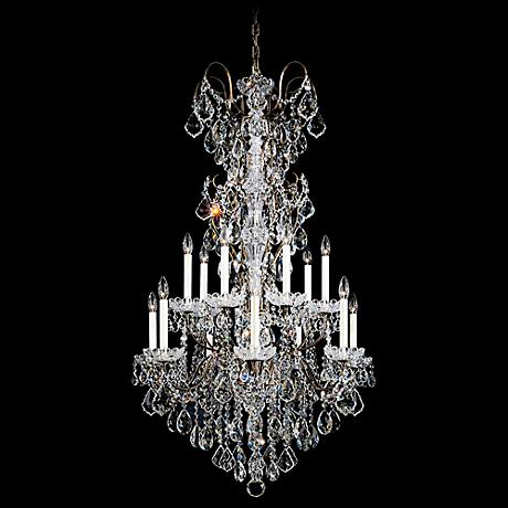 "Schonbek New Orleans Collection 53"" High Crystal Chandelier"
