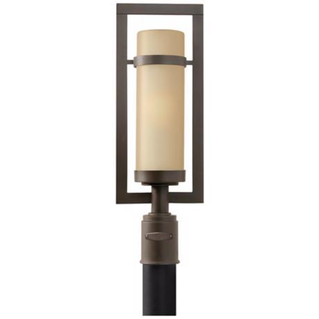 "Hinkley Cordillera Collection 23"" High Outdoor Post Light"