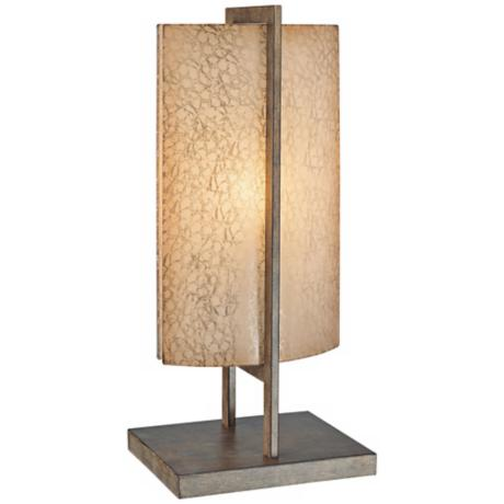Ambience Clarte Iron Patina Artistic Table Lamp