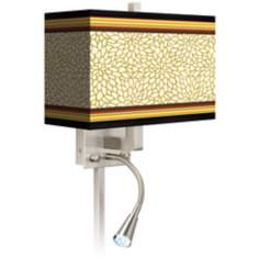 Stacy Garcia Spice Dahlia LED Reading Light Plug-In Sconce