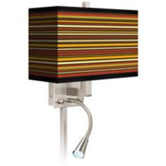 Stacy Garcia Spice Stripe LED Reading Light Plug-In Sconce