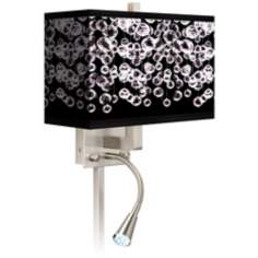 Shimmer Giclee LED Reading Light Plug-In Sconce