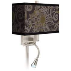 Stacy Garcia Ornament Metal LED Reading Light Plug-In Sconce