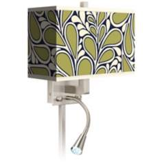 Stacy Garcia Rain Metal LED Reading Light Plug-In Sconce