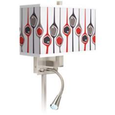 Shutter Giclee LED Reading Light Plug-In Sconce