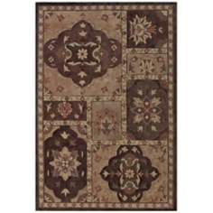 Winchester Collection Lawton Olive Area Rug