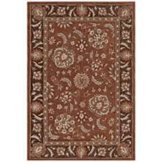 Winchester Collection Hawthorne Nutmeg Area Rug