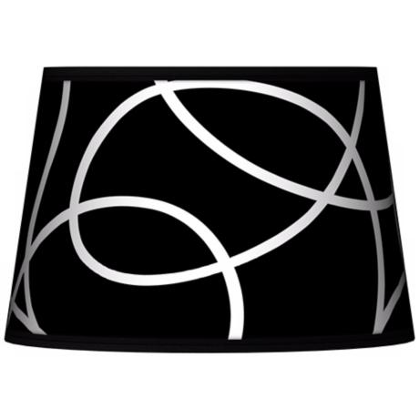 Abstract Tapered Lamp Shade 13x16x10.5 (Spider)