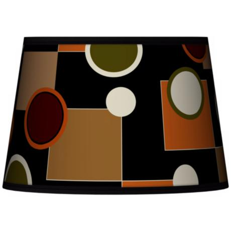 Retro Medley Tapered Lamp Shade 13x16x10.5 (Spider)