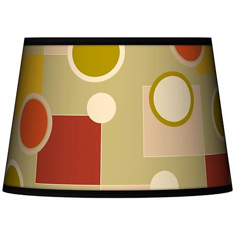 Retro Citrus Medley Tapered Shade 13x16x10.5 (Spider)