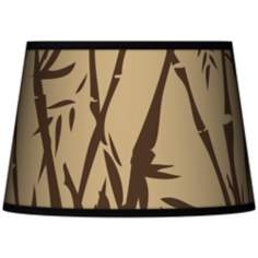 Earth Bamboo Tapered Shade 13x16x10.5 (Spider)