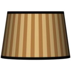 Butterscotch Vertical Tapered Lamp Shade 13x16x10.5 (Spider)