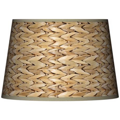 Seagrass Tapered Lamp Shade 13x16x10.5 (Spider)