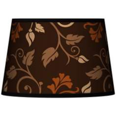 Foliage Tapered Lamp Shade 13x16x10.5 (Spider)
